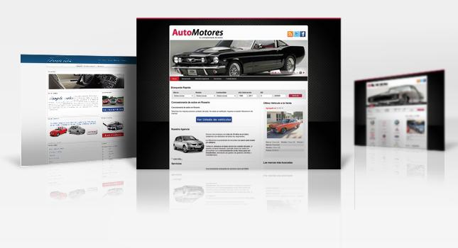 Sitio web para concesionarios de autos