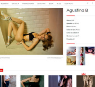 Diseño Web: Top Models Argentina