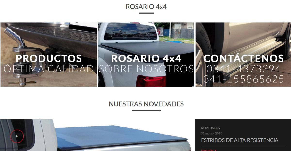 Diseño web Rosario 4×4